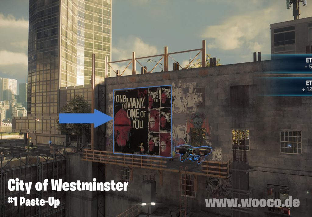WDL Westminster Paste-Up Map