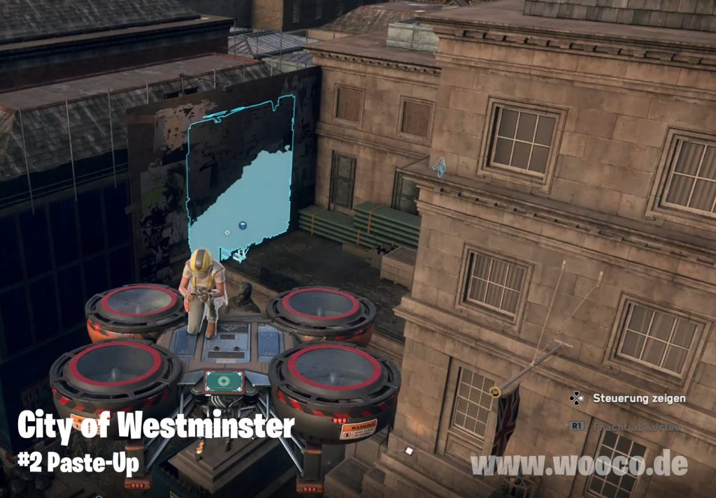 WDL Westminster Paste-Up Map