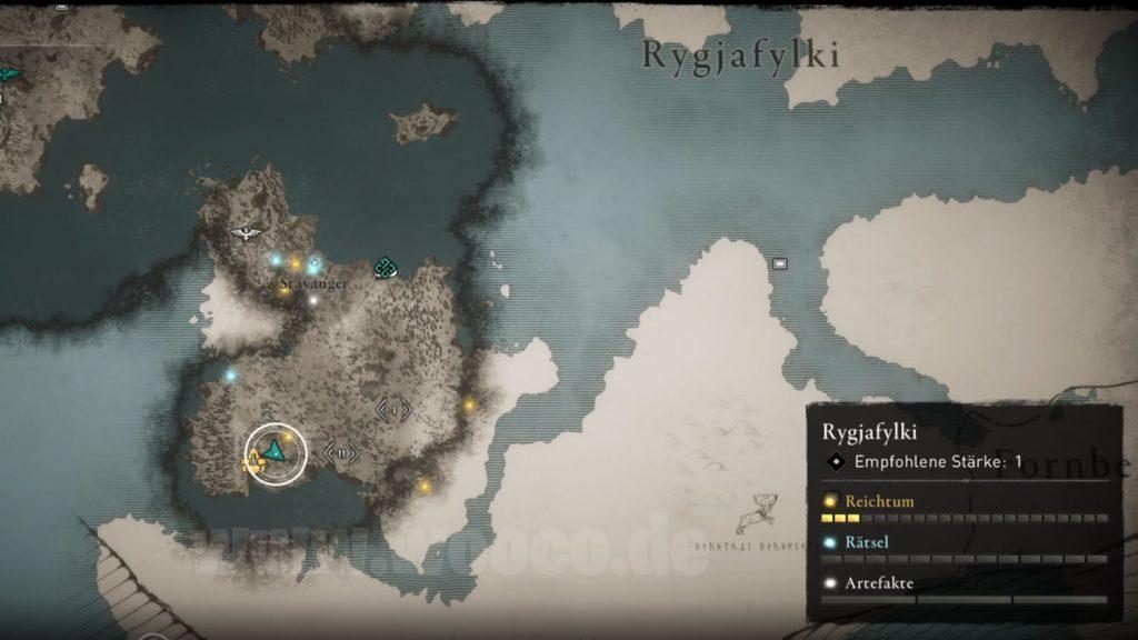 ACV Ynglinger-Sax Map Standort