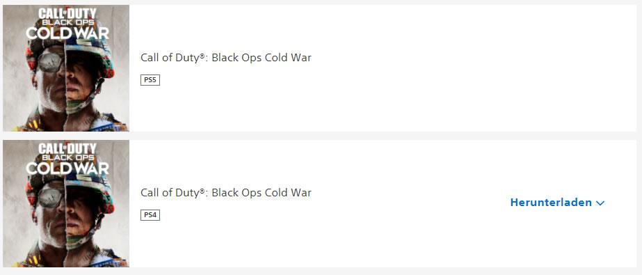 Black Ops Cold War Download PSN