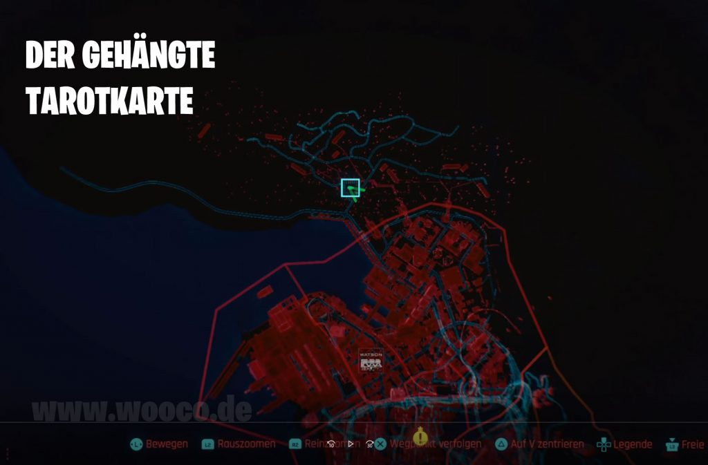 CP77 Tarotkarte 01 Map