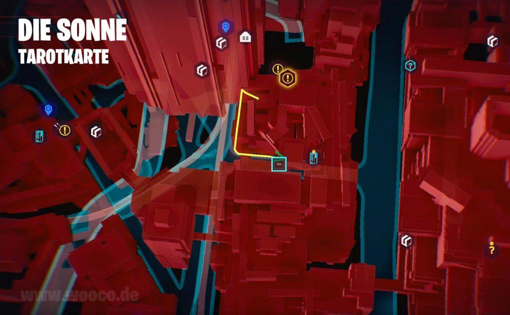 CP77 Tarotkarte 06 Map