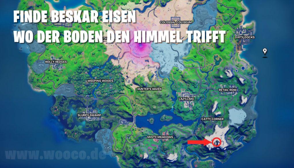Beskar Eisen Finden Himmel Map