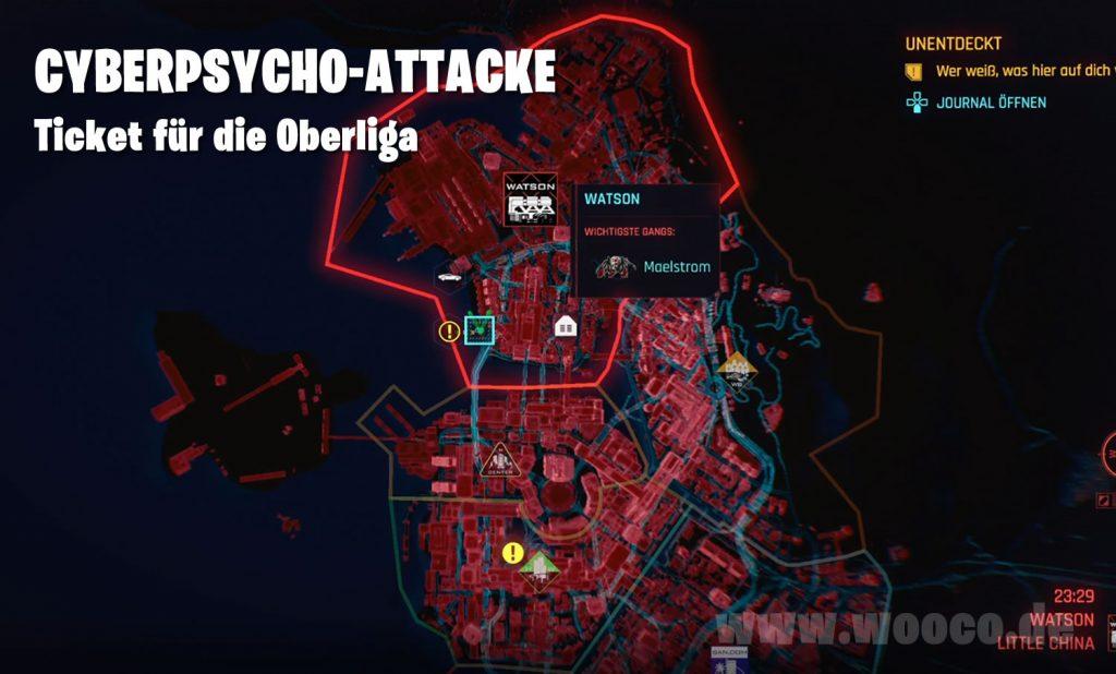 Cyberpsycho Oberliga Map