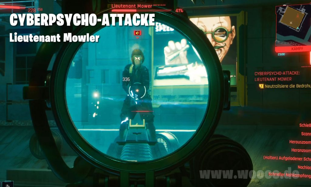 Cyberpsycho Mowler Map