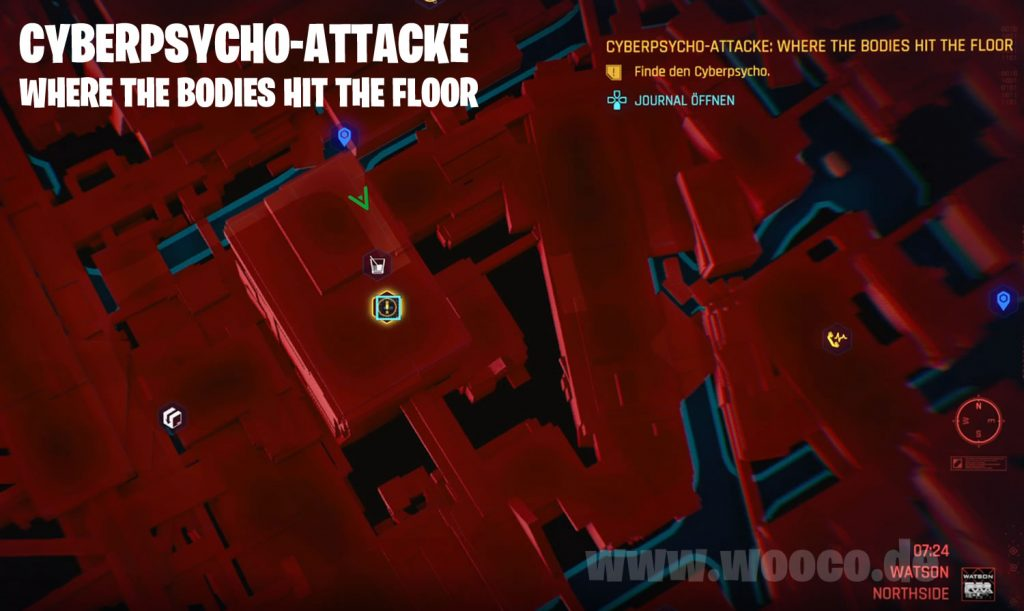 Where The Bodies Hit The Floor Map