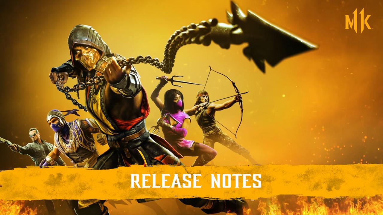 Mortal Kombat 11 Update 1.28 Patch Notes vom 26. Januar