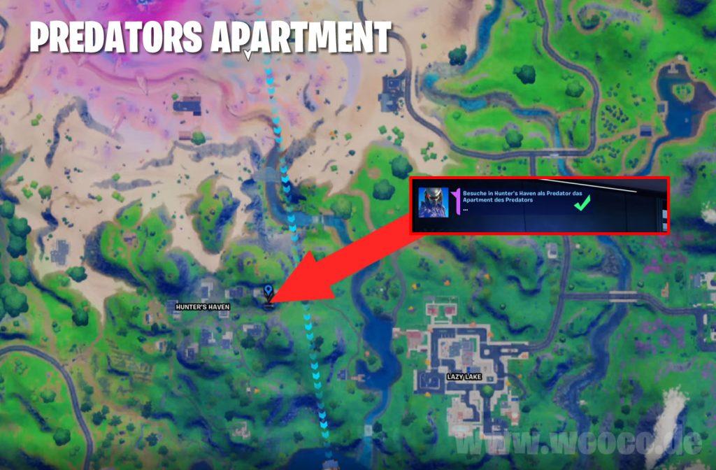 Fortnite Predator Map Apartment