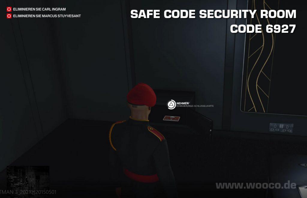 Dubai Safe Code Security Room