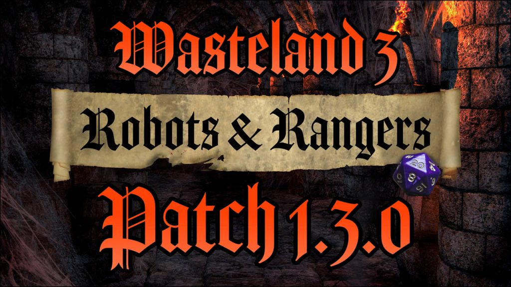 Wasteland 3 Update 1.13