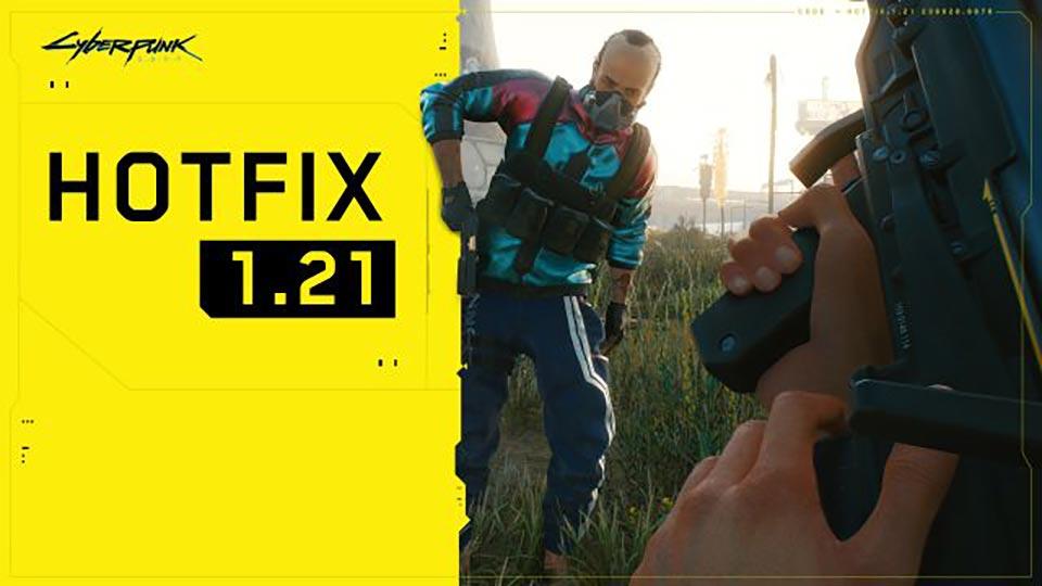 Cyberpunk 2077 Hotfix Patch 1.21 – Update Details vom 14. April