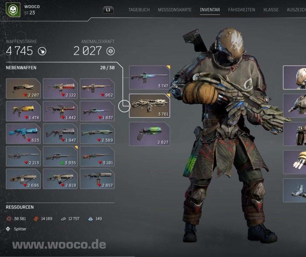 Legendäres Sturmgewehr Outriders