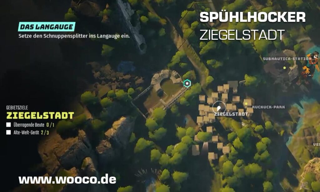 Spühlhocker Ziegelstadt Map