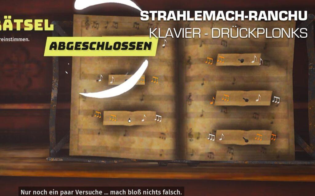 Alte Welt Gerät Klavier Drückplomks