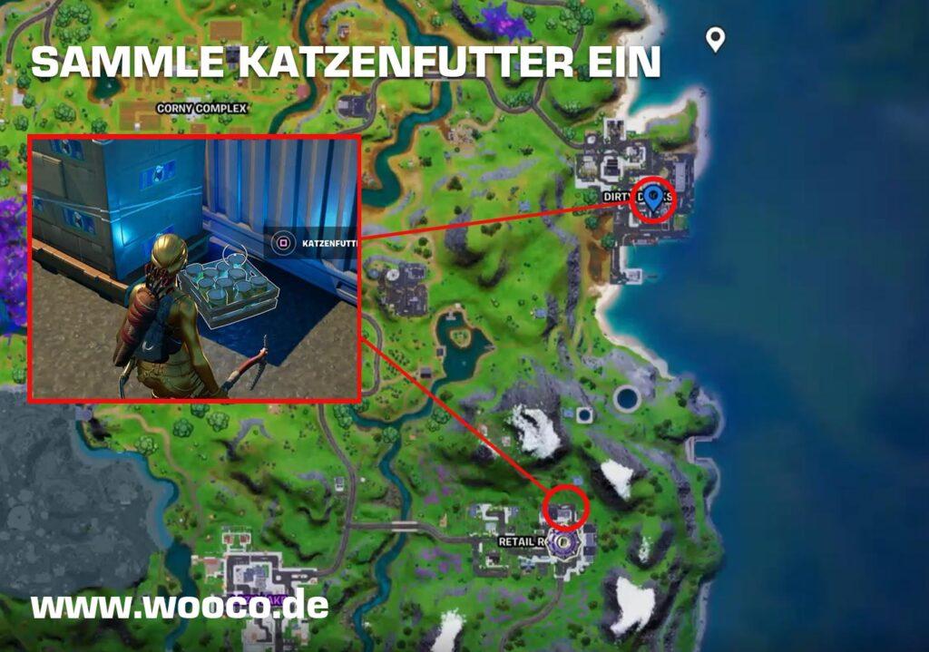 Katzenfutter Fortnite Map