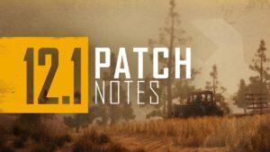 PUBG 12.1 Patch