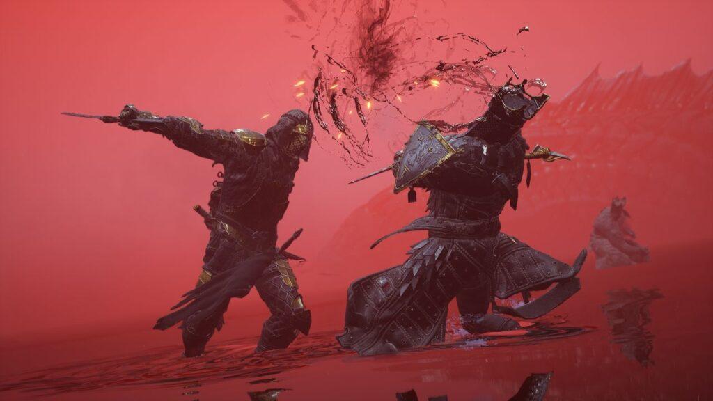 Hadern vs Eredrim in the Blood Lakes