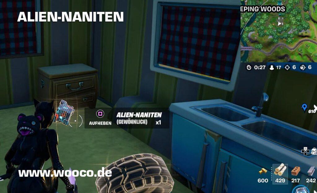 Fortnite Map Alien-Naniten