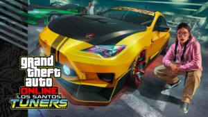 GTA Online PS5 Tuners Feature