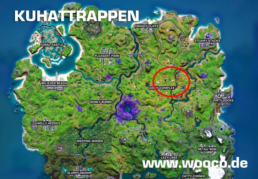 Kuhattrappen Fortnite Map