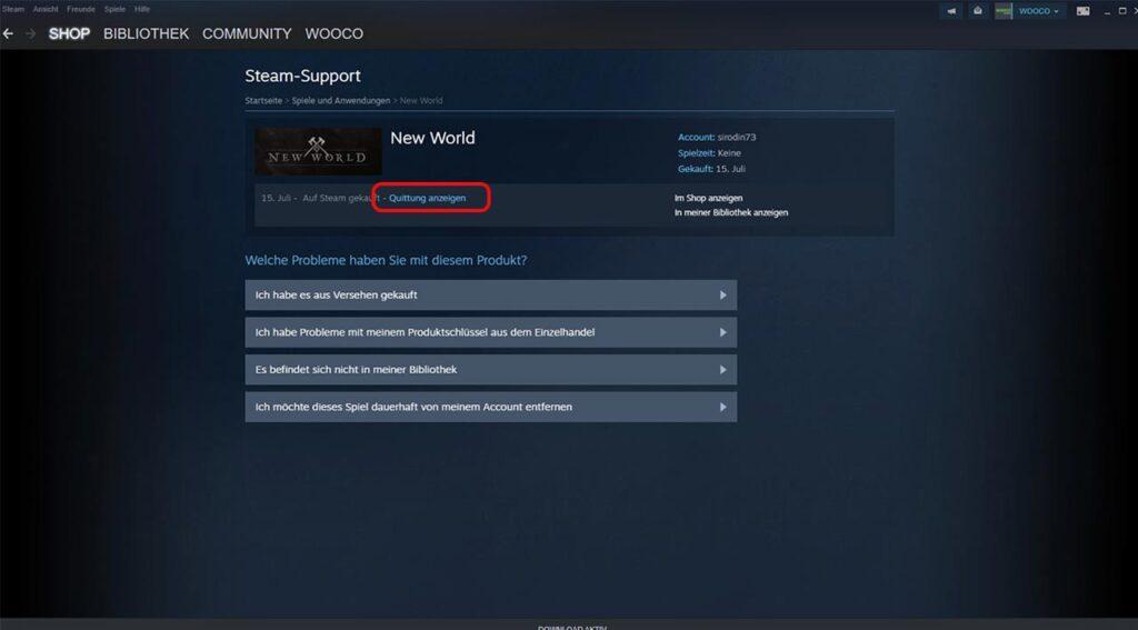 New World Steam Beta Zugang 02