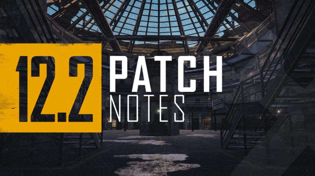PUBG 12.2 Patch Notes
