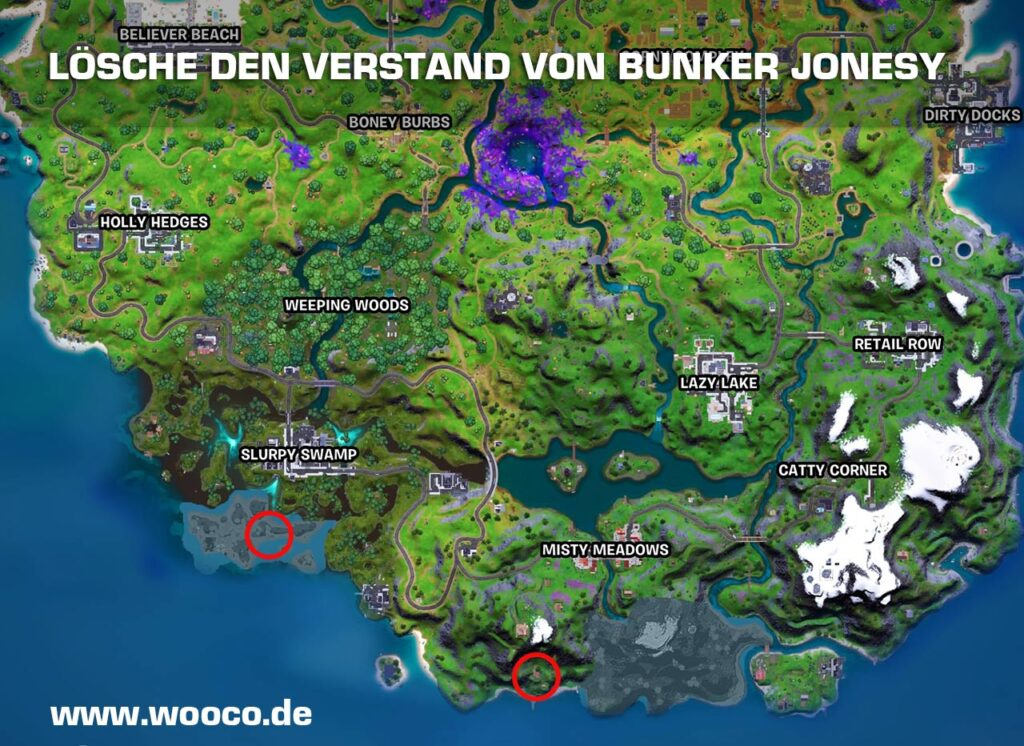Fortnite Lösche den Verstand - Fortnite Map