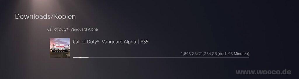 CoD Vanguard Alpha Download