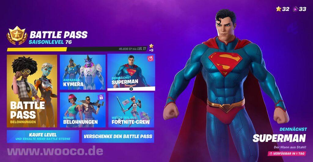 Supermann Herausforderungen