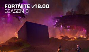 Fortnite Update 18.00