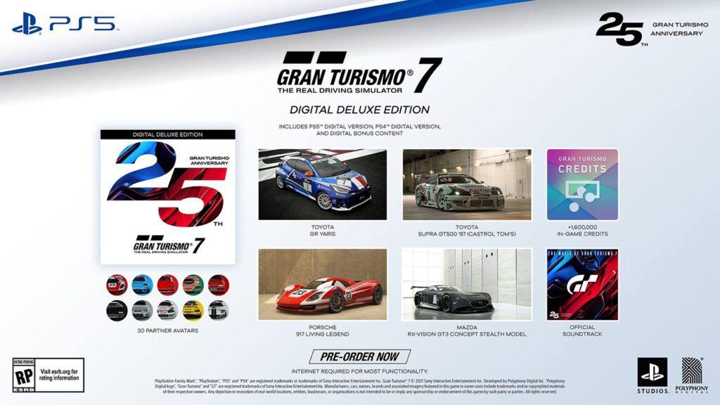 GT7 Digital Deluxe Edition