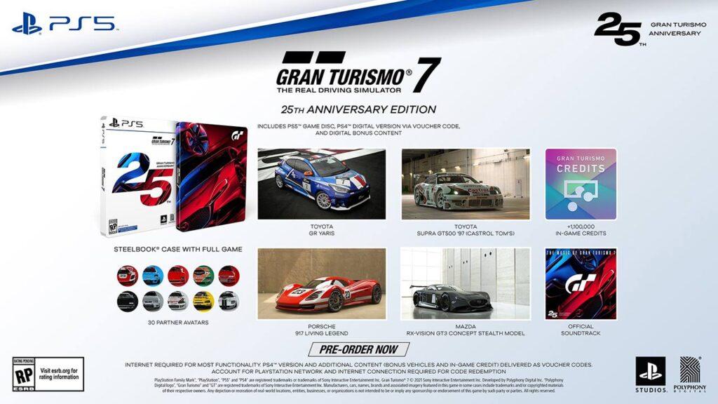 GT7 Anniversary Edition