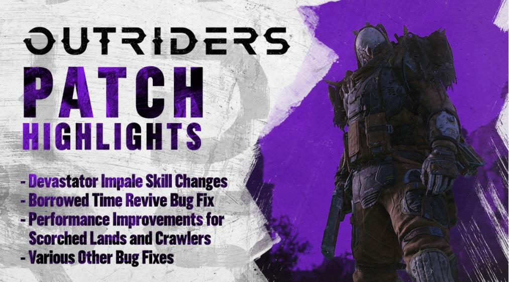 Outriders Update 1.14