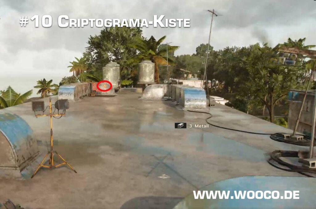 Criptograma Kiste 10 Map