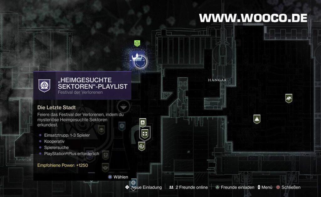 Destiny 2 Heimgesuchte Sektoren Playlist
