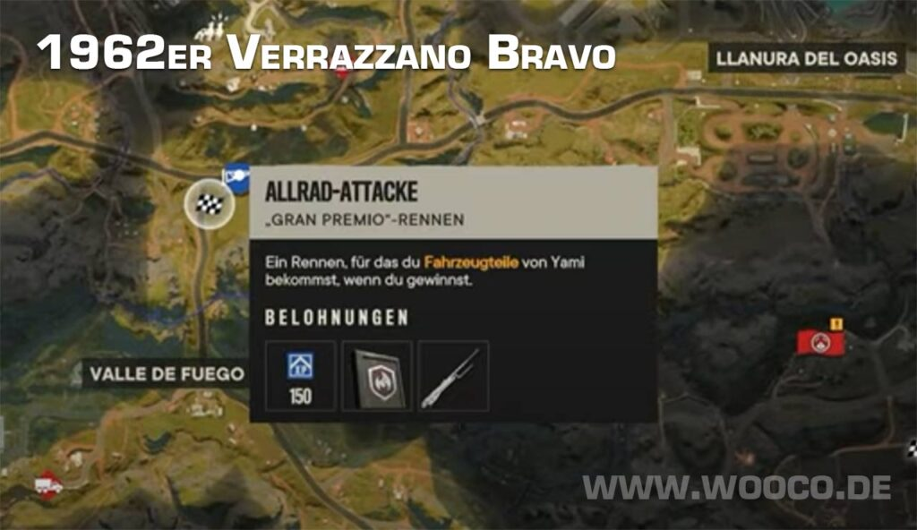 Verrazzano Bravo Standort